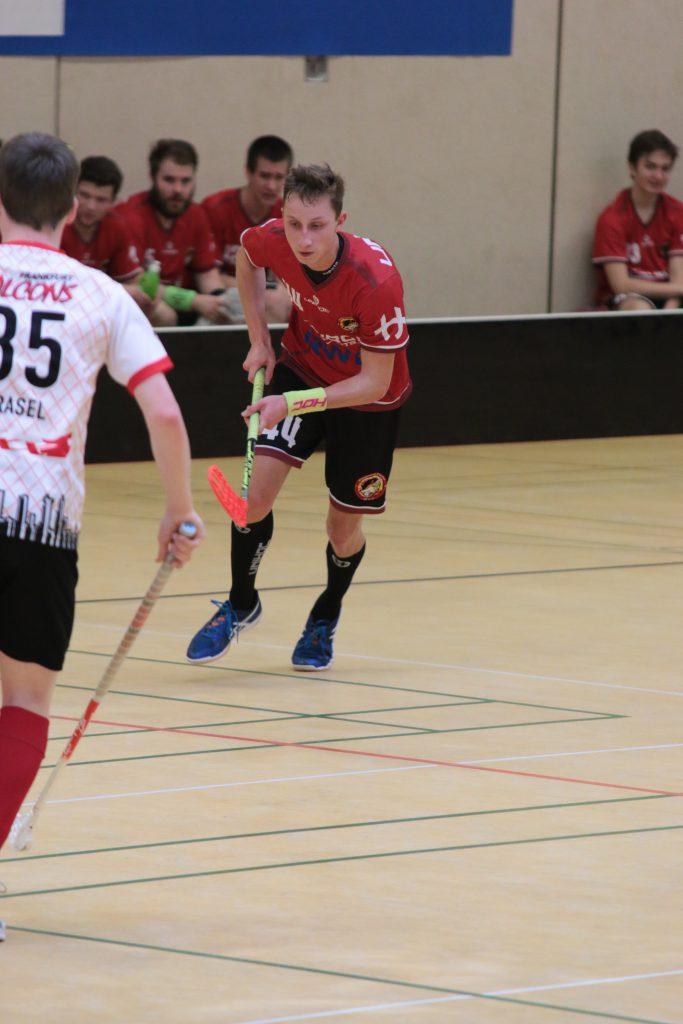 #44 Jannik Weiß spielte stark auf in Hannover.